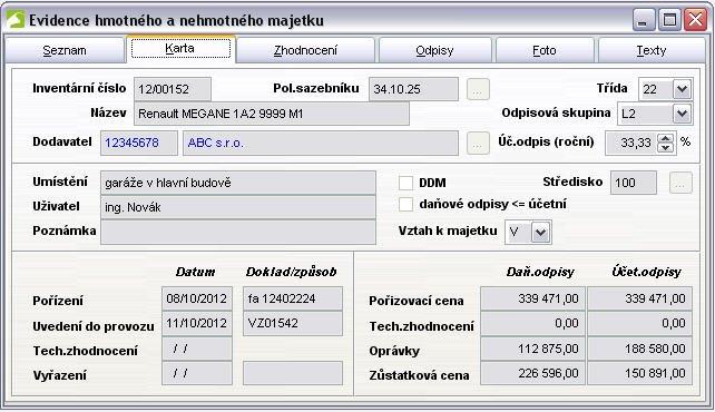 Ekonomicke Moduly Majetek Ekonomicky Software Duna Ucto