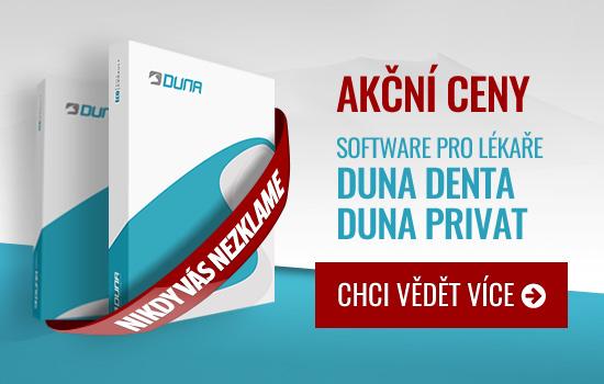 Akční ceny - Software pro lékaře DUNA DENTA | DUNA PRIVAT